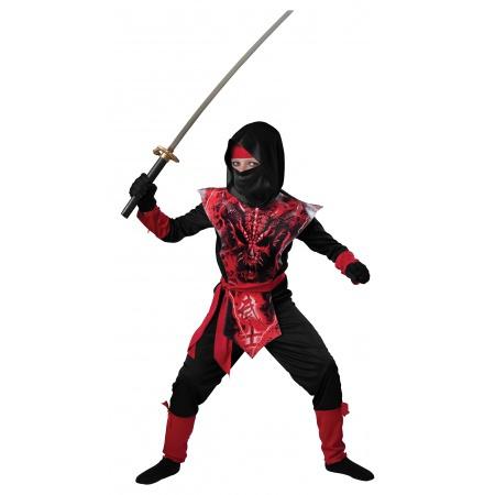 Kids Ninja Costume image