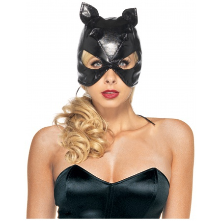 Black Cat Mask image