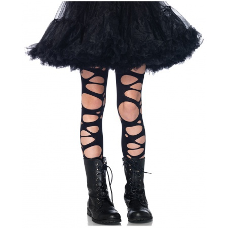Tattered Tights Costume Accessory image