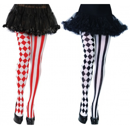 Harlequin Tights image