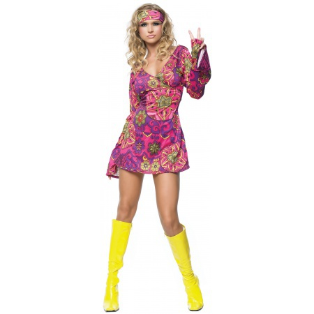 Hippie Dress Costume image