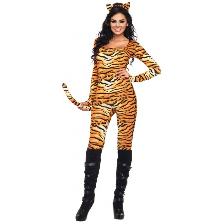 Womens Sexy Tiger Costume image