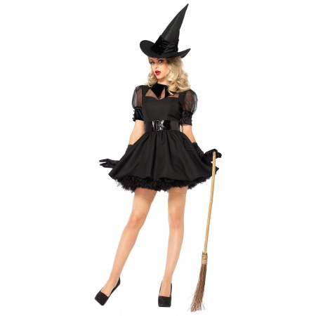 Cute Witch Costume For Women image
