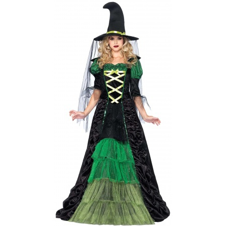 Storybook Witch Costume  image