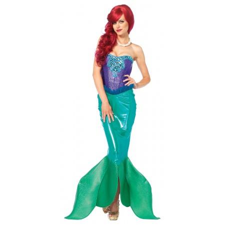 Adult Little Mermaid Costume image