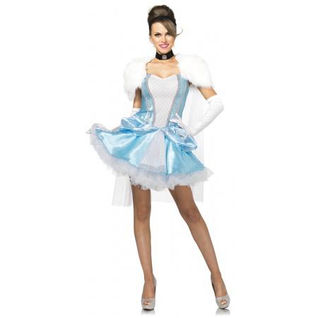 Adult Cinderella Costume image