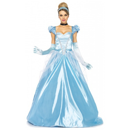 Cinderella Costume Adult image