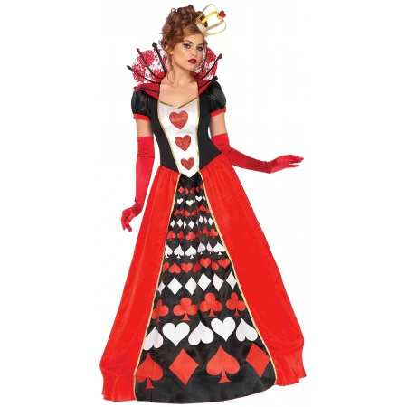 Womens Queen Of Hearts Costume  image