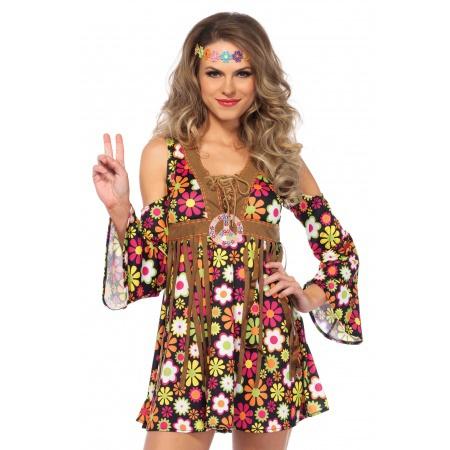 70s Hippie Girl Costume image