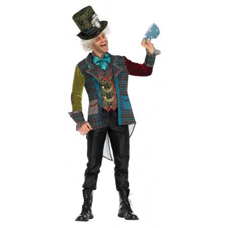 Adult Mad Hatter Costume image