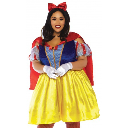 Womens Snow White Costume image