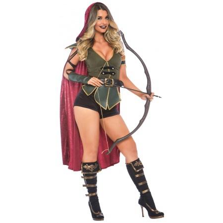 Sexy Robin Hood Costume image