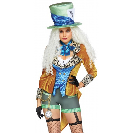 Mad Hatter Costume For Women image