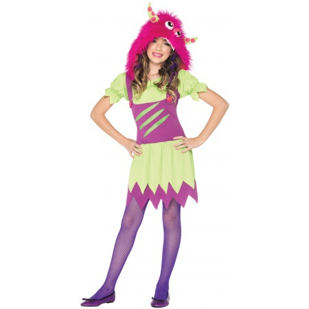 Girls Monster Costume image