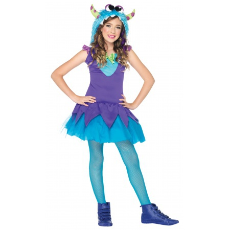 Monster Costume For Girls image
