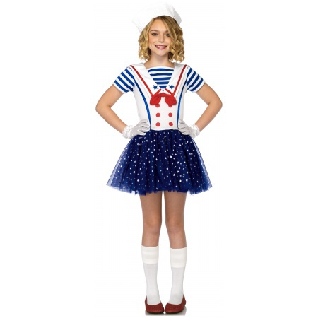 Kids Sailor Girl Costume image