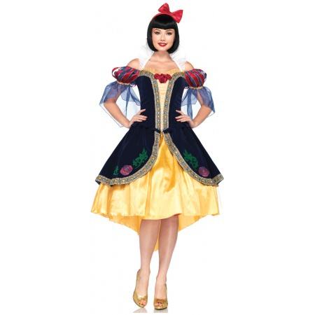 Adult Disney Princess Snow White Costume image