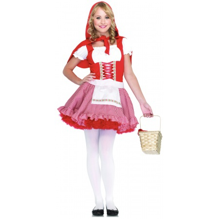 Teen Little Red Riding Hood Costume image