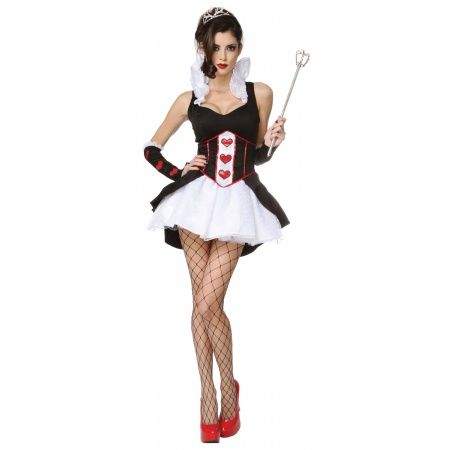 Queen Of Hearts Sexy Costume image