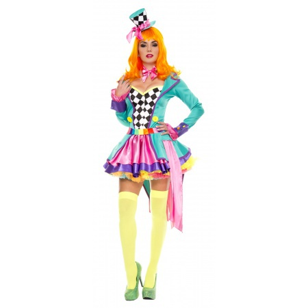 Mad Hatter Womens Costume image