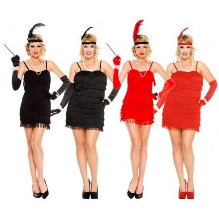 Flapper Girl Halloween Costume image