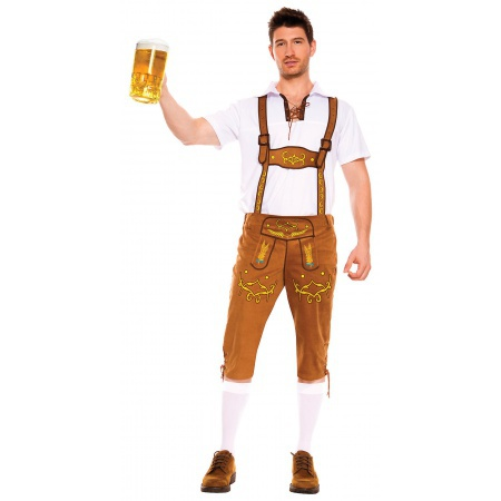 German Lederhosen Costume image