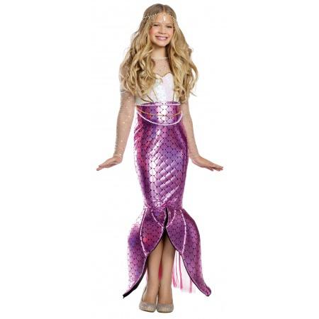 Girls Mermaid Costume image