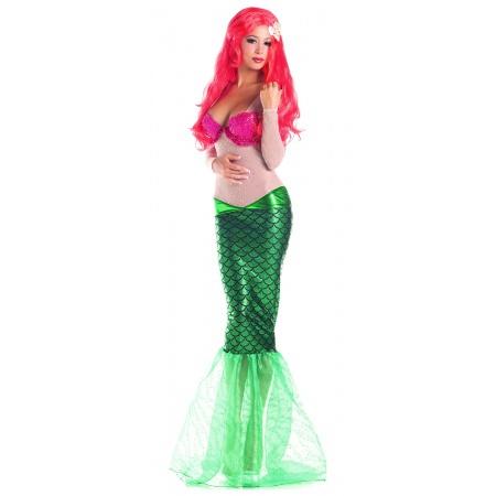 Little Mermaid Adult Costume image