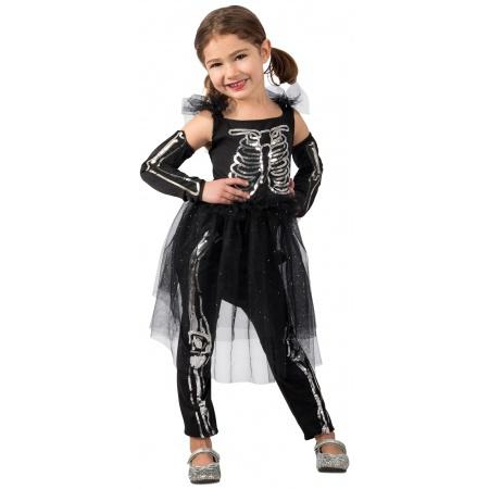 Skeleton Costume Girls image