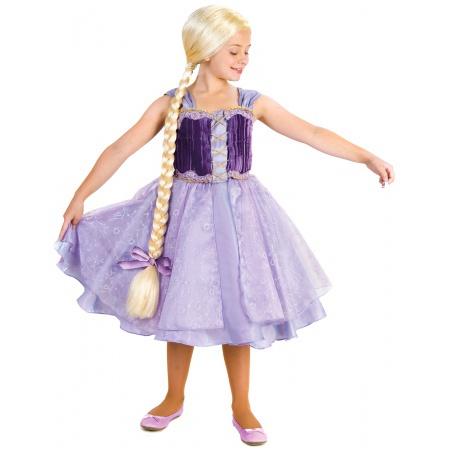 Rapunzel Costume For Kids image