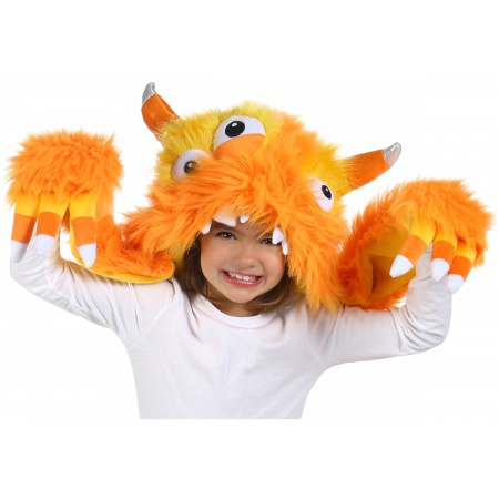 Candy Corn Monster Costume image