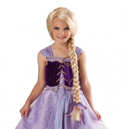 Rapunzel Wig For Kids image