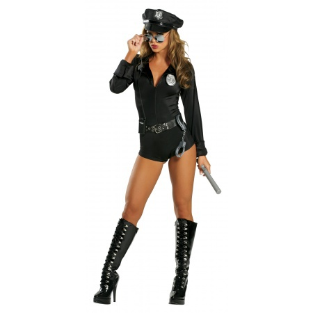 Sexy Police Costume image