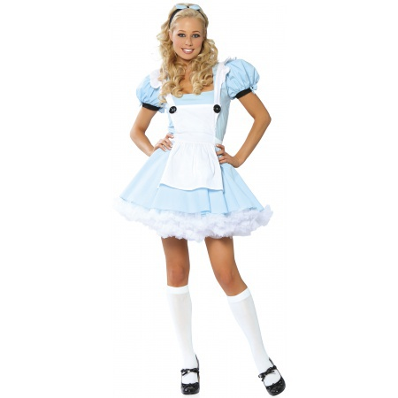 Alice In Wonderland Adult Costume image