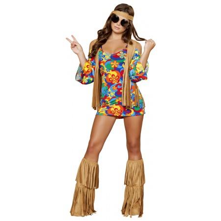 Sexy Hippie Costume image