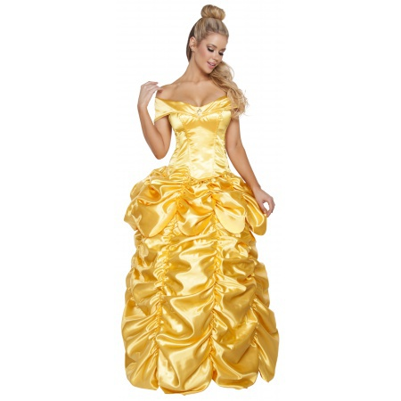 Adult Princess Belle Costume image
