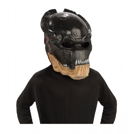 Predator Vinyl Mask Costume Accessory Alien Hunter image