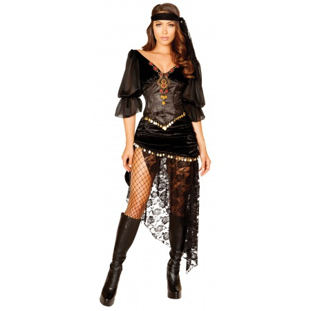 Sexy Gypsy Costume image