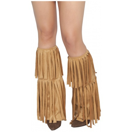 Fringed Leg Warmer Costume Accessory image