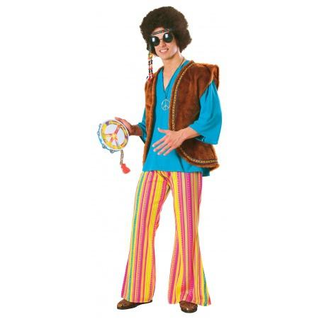 Mens Hippie Costume  image