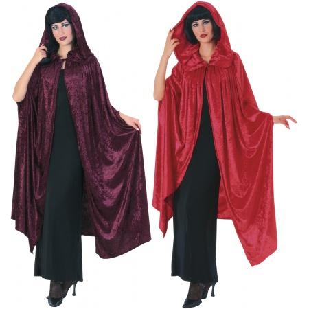 Panne Velvet Medieval Cloak image