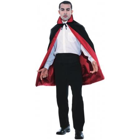 45 Inch Reversible Cape Costume Accessory Vampire image