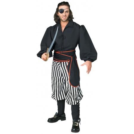 Mens Buccaneer Costume  image