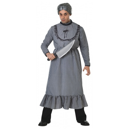 Norman Bates Mother Psycho Costume image