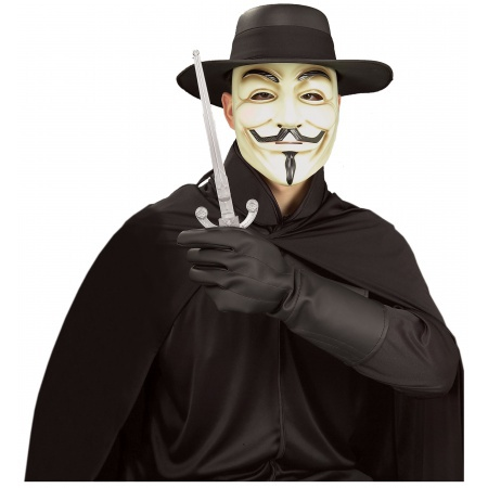 V For Vendetta Kit Costume Accessory Guy Fawkes Mask & More image