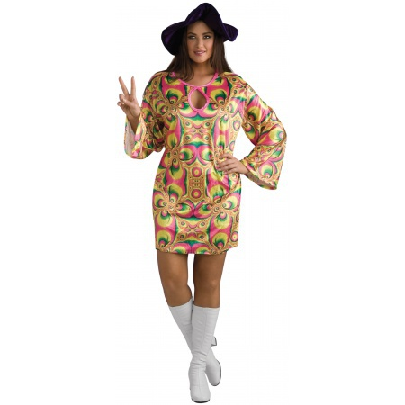 Janis Joplin Costume image