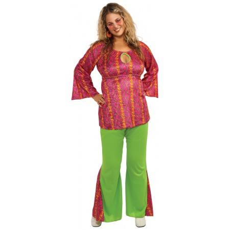 Plus Size Hippie Costume image