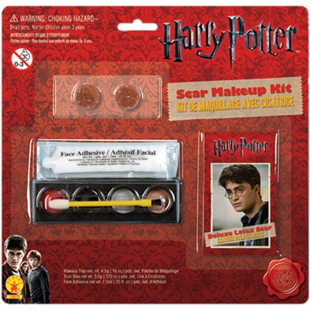 Harry Potter Scar Makeup Kit Costume Accessory Make Up image