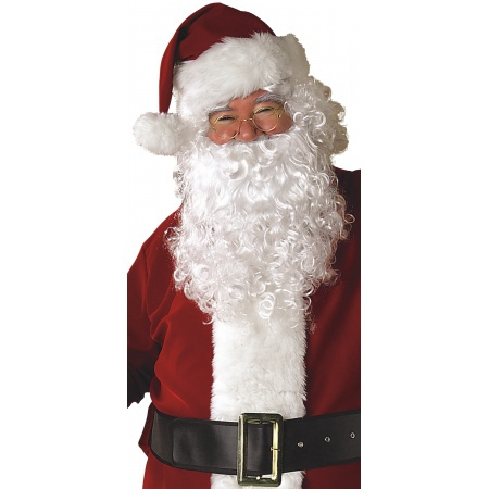 Economy Santa Wig And Beard Set image