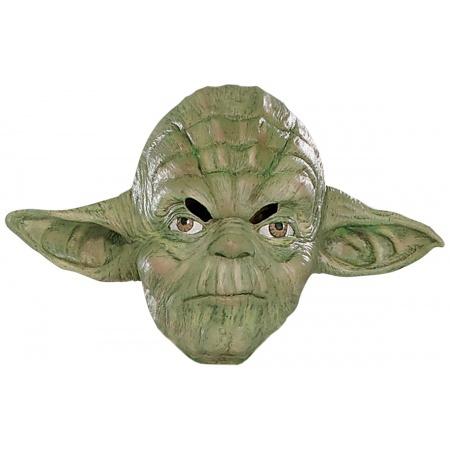 Yoda 3/4 Vinyl Mask Costume Accessory Jedi Master image